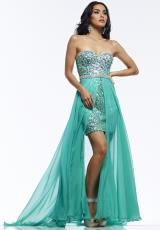 2014 Riva High Low Prom Dress R9729
