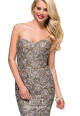 Strapless 2014 Scala Homecoming Dress 48322