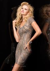 2014 Scala Sleeved Homecoming Dress 48324