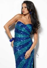 2013 Sean Prom Long Fitted Dress 50515