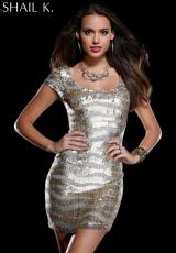 2013 Shail K Dress KL3201