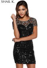 2015 Shail K Prom Dress 3413