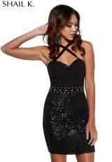 2014 Shail K Short Homecoming Dress 3436
