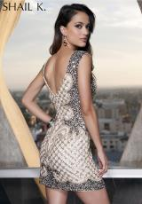 2014 Shail K Two Straps Homecoming Dress 3453
