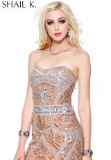 Shail K. 3525.  Available in Ivory, Shimmery Blush
