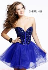 2013 Sherri Hill Corset Prom Dress 1403sale