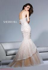 Sherri Hill 2789.  Available in Ivory/Nude