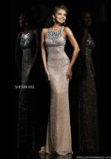 2014 Sherri Hill Beaded Prom Dress 11095