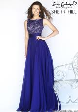 Sherri Hill 11170.  Available in Emerald, Purple, Red, Royal