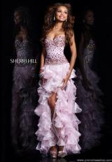 Sherri Hill 21104.  Available in Aqua, Ivory, Nude, Pink