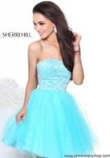 Prom Dress Shop on Sherri Hill Short Dress21153 At Prom Dress Shop