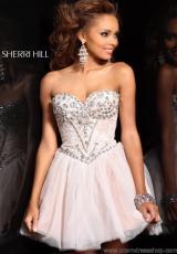 Sherri Hill Lace 2013 Homecoming Dress 21156