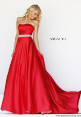 Sherri Hill 21276.  Available in Ivory, Red, Royal, Turquoise