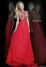 Sherri Hill 21321.  Available in Nude/Red