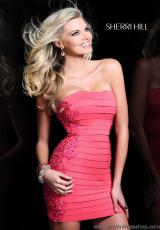 Short Strapless 2979 Sherri Hill 2013 Prom Dress
