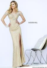 Sherri Hill 32019.  Available in Nude