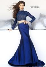 Sherri Hill 32044.  Available in Black, Navy