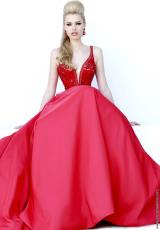 Sherri Hill 32108.  Available in Black, Emerald, Ivory, Light Blue, Nude, Red, Royal