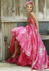 Sherri Hill 32127.  Available in Coral