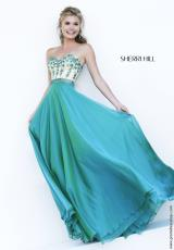 Sherri Hill 32161.  Available in Black, Emerald, Royal, Wine