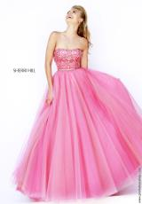Sherri Hill 32173.  Available in Coral, Light Blue, Pink