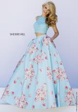 Sherri Hill 32216.  Available in Blue, Pink
