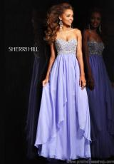 Sherri Hill 3862.  Available in Coral, Light Blue, Light Purple, Lime, Pink, White