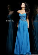 2014 Sherri Hill Strapless Prom Dress 3881