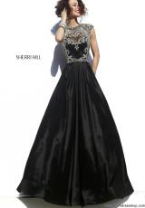 Sherri Hill 4332.  Available in Black