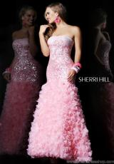 Sherri Hill 8500.  Available in Pink, Yellow