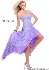 Sherri Hill 8503.  Available in Fuchsia, Peach, Pink