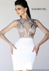 2013 Sherri Hill Jersey Homecoming Dress 11035