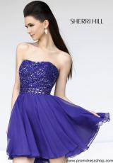 2013 Sherri Hill Short Homecoming Dress 11046
