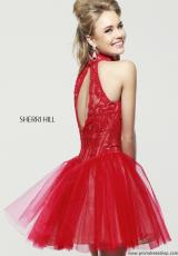2014 Sherri Hill Lace Prom Dress 21193