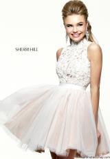 Sherri Hill Short 21345.  Available in Red