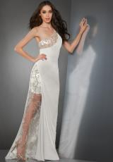 Shimmer 59823.  Available in Ivory, Peachy Nude, Seafoam