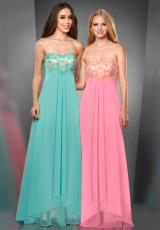 Stunning 2014 Shimmer Long Prom Dress 59833