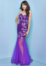 Splash Sequins Torso Prom Dress 2014 J206