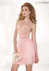 2014 Tarik Ediz Beaded Bodice Prom Dress 90364