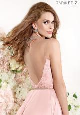 2014 Tarik Ediz Beaded Waist Prom Dress 90377