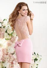 2014 Tarik Ediz Sleeved Prom Dress 90384
