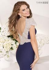 Form Fitted Tarik Ediz Prom Dress 92057
