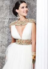Tarik Ediz 92173.  Available in Ivory