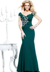 Tarik Ediz Elegant Long Homecoming Dress 92200