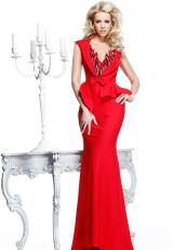 Tarik Ediz Fitted Homecoming Dress 92306