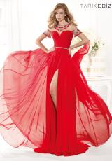 2014 Tarik Ediz Sheer Sleeves Prom Dress 92386