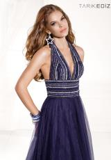 2014 Tarik Ediz V- Neckline Prom Dress 92393