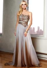 2013 Beaded Bodice Terani Evenings Dress 95304E