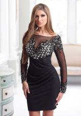 2013 Terani Evenings Sexy Fitted Short Dress C1713