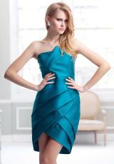 2013 Terani Evenings Layered Skirt Dress C1723